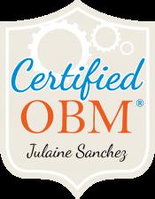 Julaine-Sanchez Certification
